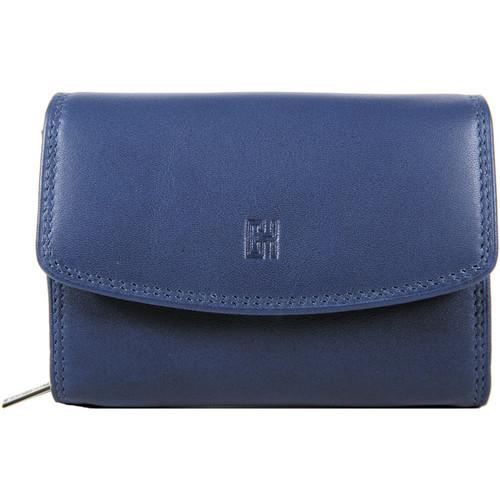 Sacs Femme Portefeuilles Gerard Henon Porte-cartes Softline Cuir de Vachette Lisse GH 33554 Bleu