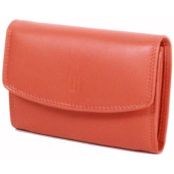 Sacs Femme Portefeuilles Gerard Henon Porte-cartes Softline Cuir de Vachette Lisse GH 33554 Orange