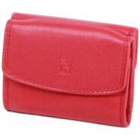 Sacs Femme Porte-monnaie Gerard Henon Porte-monnaie Softline Cuir de Vachette Lisse GH 33560 Rouge