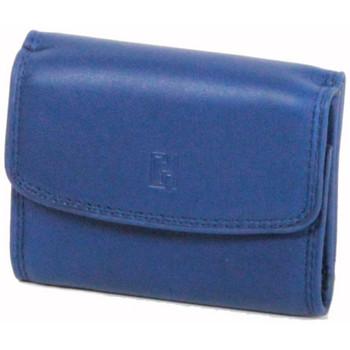 Sacs Femme Porte-monnaie Gerard Henon Porte-monnaie Softline Cuir de Vachette Lisse GH 33560 Bleu