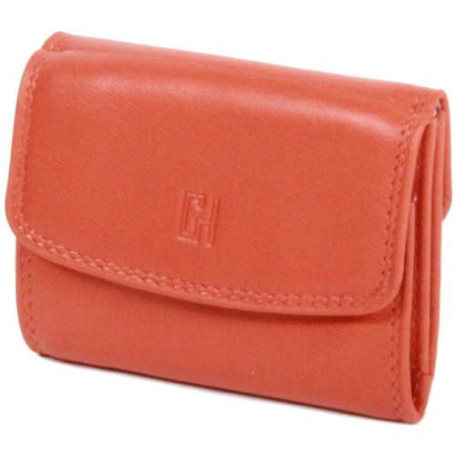 Sacs Femme Porte-monnaie Gerard Henon Porte-monnaie Softline Cuir de Vachette Lisse GH 33560 Orange