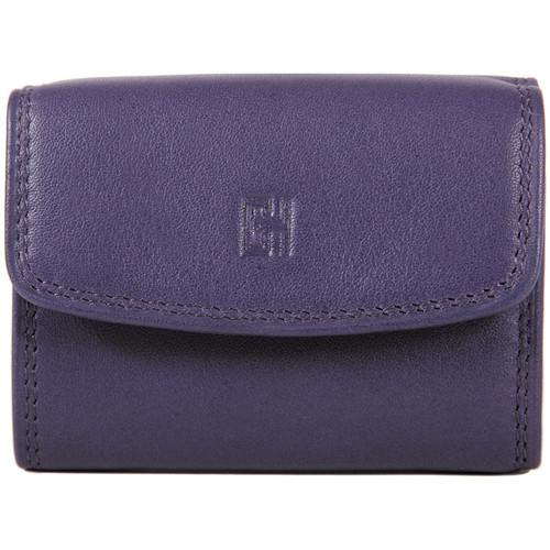 Sacs Femme Porte-monnaie Gerard Henon Porte-monnaie Softline Cuir de Vachette Lisse GH 33560 Violet