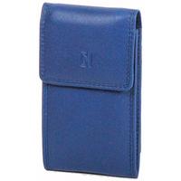 Accessoires textile Femme Porte-clés Gerard Henon Porte-cles Softline Cuir de Vachette Lisse GH 33571 Bleu