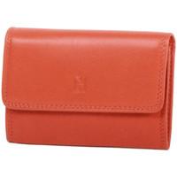 Accessoires textile Femme Porte-clés Gerard Henon Porte-cles Softline Cuir de Vachette Lisse GH 33572 Orange