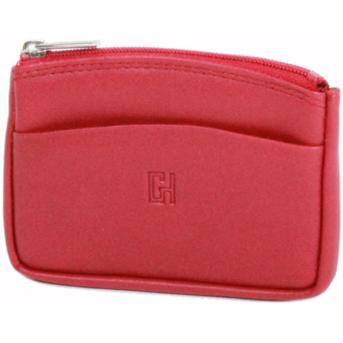 Sacs Femme Porte-monnaie Gerard Henon Porte-monnaie Softline Cuir de Vachette Lisse GH 33575 Rouge