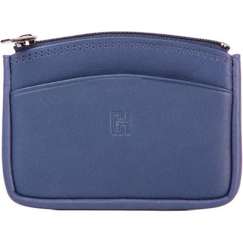Sacs Femme Porte-monnaie Gerard Henon Porte-monnaie Softline Cuir de Vachette Lisse GH 33575 Bleu