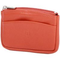 Sacs Femme Porte-monnaie Gerard Henon Porte-monnaie Softline Cuir de Vachette Lisse GH 33575 Orange