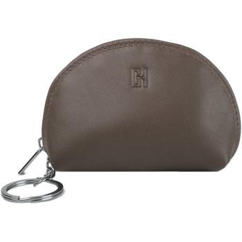 Accessoires textile Femme Porte-clés Gerard Henon Porte-cles Softline Cuir de Vachette Lisse GH 33581 Marron
