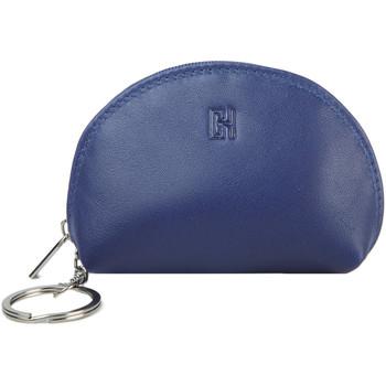 Accessoires textile Femme Porte-clés Gerard Henon Porte-cles Softline Cuir de Vachette Lisse GH 33581 Bleu