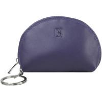 Accessoires textile Femme Porte-clés Gerard Henon Porte-cles Softline Cuir de Vachette Lisse GH 33581 Violet