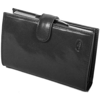 Sacs Femme Portefeuilles Katana Porte-feuille en Cuir de Vachette Collet K353010 Noir