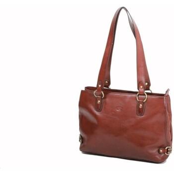 Sacs Femme Cabas / Sacs shopping Katana Sac shopping en cuir de Vachette collet K 82617 Marron