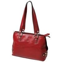 Sacs Femme Cabas / Sacs shopping Katana Sac Shopping En Cuir De Vachette Collet K 82617 Rouge