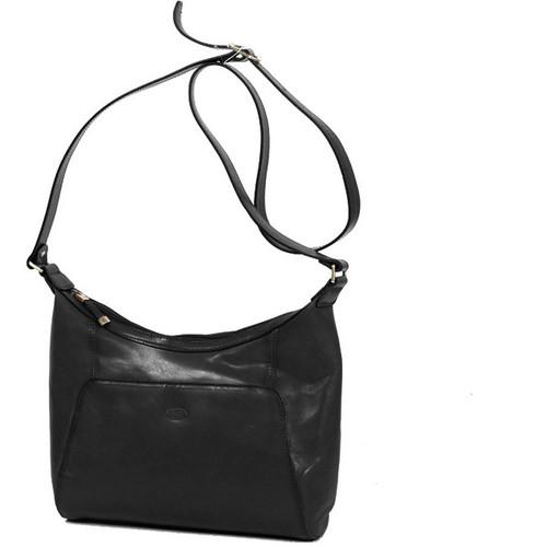 Sacs Femme Sacs Bandoulière Katana Besace en cuir de Vachette collet K 82362 Noir