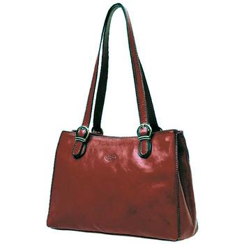 Sacs Femme Cabas / Sacs shopping Katana Sac Shopping En Cuir De Vachette Collet K 82533 Marron