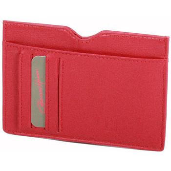 Sacs Femme Portefeuilles Gerard Henon Porte cartes Softline Cuir de Vachette Lisse GH 33585 Rouge