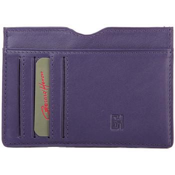 Sacs Femme Portefeuilles Gerard Henon Porte cartes Softline Cuir de Vachette Lisse GH 33585 Violet