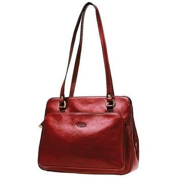 Sacs Femme Cabas / Sacs shopping Katana Sac shopping en cuir de Vachette collet K 82374 Rouge