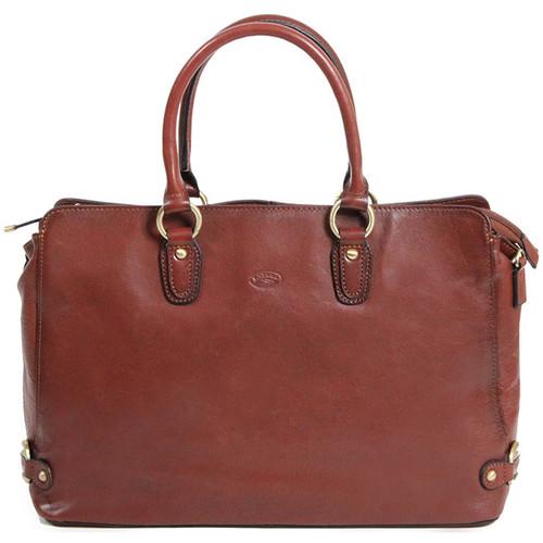 Sacs Femme Sacs porté main Katana Sac shopping Cuir de Vachette Collet K82618 Marron
