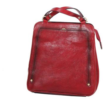 Sacs Femme Sacs à dos Katana Sac a dos en Cuir de Vachette collet vegetal K 66806 Rouge