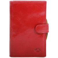 Sacs Femme Portefeuilles Katana Porte-feuille en Cuir de Vachette Collet K353010 Rouge