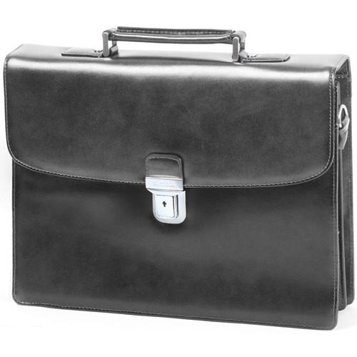 Sacs Homme Porte-Documents / Serviettes Katana Serviette  Refente de cuir de Vachette K63041 Noir