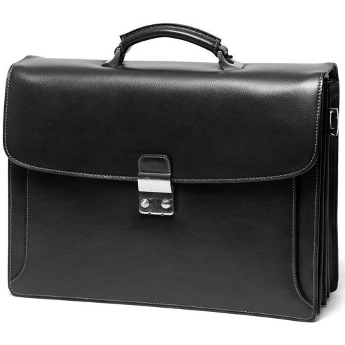 Sacs Homme Porte-Documents / Serviettes Gerard Henon Cartable Atout GH 2030 Noir
