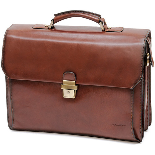 Sacs Homme Cartables Gerard Henon Cartable New Master GH 5528 Marron