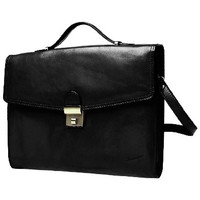 Sacs Homme Porte-Documents / Serviettes Katana Cartable Cuir de Vachette Collet K 68128 Noir