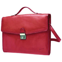 Sacs Homme Porte-Documents / Serviettes Katana Cartable Cuir de Vachette Collet K 68128 Rouge