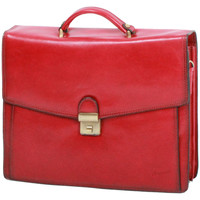 Sacs Homme Porte-Documents / Serviettes Katana Cartable a bandouliere 3 soufflets K 68131 Rouge