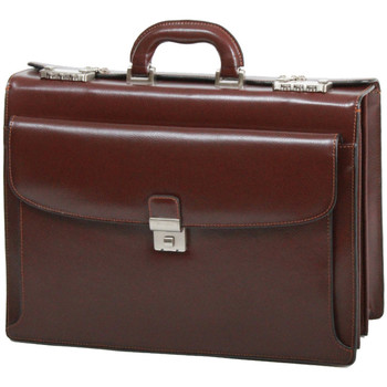 Sacs Homme Porte-Documents / Serviettes Gerard Henon Cartable Atout GH 2052 Marron