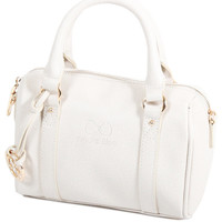 Sacs Femme Sacs porté main Andie Blue Sac Bowling S collection MEISSA A8083 Blanc