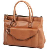 Sacs Femme Cabas / Sacs shopping Andie Blue Sac Cabas collection Heka A8084 Marron clair