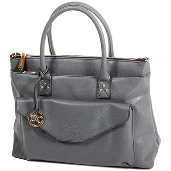Sacs Femme Cabas / Sacs shopping Andie Blue Sac Cabas collection Heka A8084 Gris
