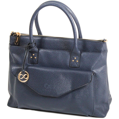Sacs Femme Cabas / Sacs shopping Andie Blue Sac Cabas collection Heka A8084 Bleu