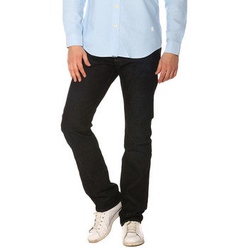 Vêtements Femme Jeans G-Star Raw Jeans HOMME - 3301 STRAIGHT_3D RAW (KRUCE DENIM) Bleu