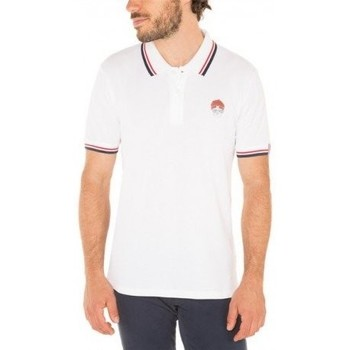 Vêtements Homme T-shirts & Polos Mister Marcel Polo POLCO BLANC