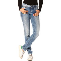 Vêtements Femme Jeans G-Star Raw Jeans FEMME - 3301 HIGH SKINNY _MEDIUM AGED (NIPPON SUPERSTRETC Bleu