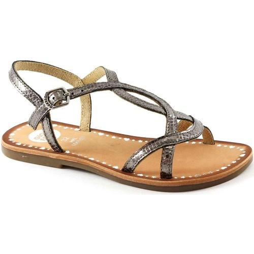Chaussures Enfant Sandales et Nu-pieds Gioseppo GIO-E17-39566-PE Marrone