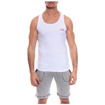 Vêtements Homme Débardeurs / T-shirts sans manche Ritchie DEBARDEUR WILL II Blanc