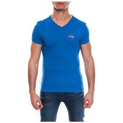 Vêtements Homme T-shirts & Polos Ritchie T-SHIRT V WORKO II Royal