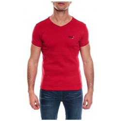 Vêtements Homme T-shirts & Polos Ritchie T-SHIRT V WORKO II Rouge
