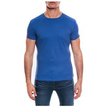 Vêtements Homme T-shirts & Polos Ritchie T-SHIRT WALTER II Royal