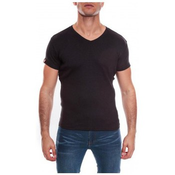 Vêtements Homme T-shirts & Polos Ritchie T-SHIRT V WILLIAM II Noir
