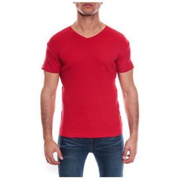 Vêtements Homme T-shirts & Polos Ritchie T-SHIRT V WILLIAM II Rouge foncé