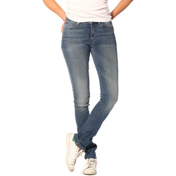 Vêtements Femme Jeans G-Star Raw Jeans FEMME - 3301 CONTOUR HIGH STRAIGHT_MEDIUM AGED (BIONIC SL Bleu