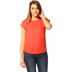Vêtements Femme T-shirts manches courtes Vero Moda T-shirt FEMME - PUNK S/S TOP D2-1_POPPY RED Rouge
