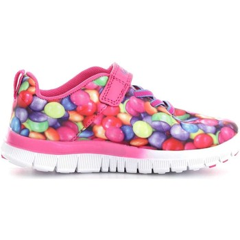 Chaussures Enfant Baskets basses Lelli Kelly 4828 Basket Fille Fucsia Fucsia