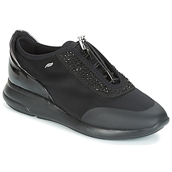 Chaussures Femme Baskets basses Geox D OPHIRA Noir